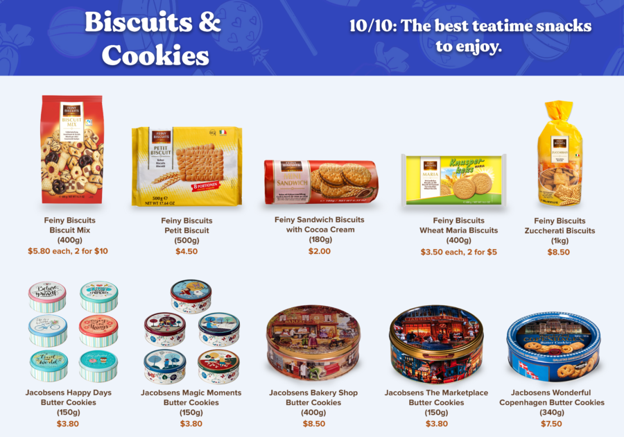 Candy Empire Biscuits & Cookies Page 1