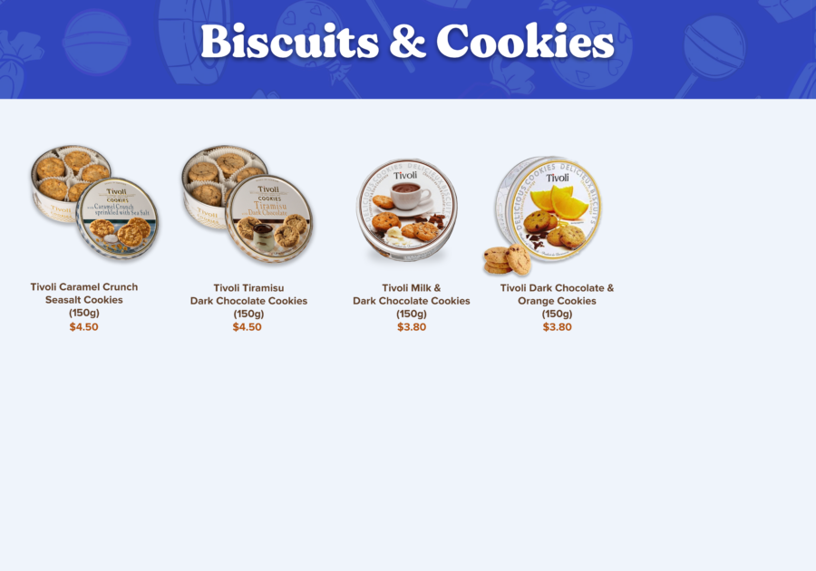 Candy Empire Biscuits & Cookies Page 3