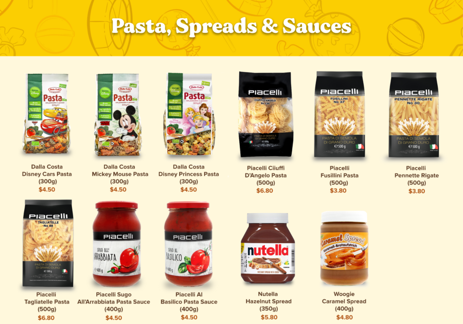 Candy Empire Spreads & Sauces & Pasta