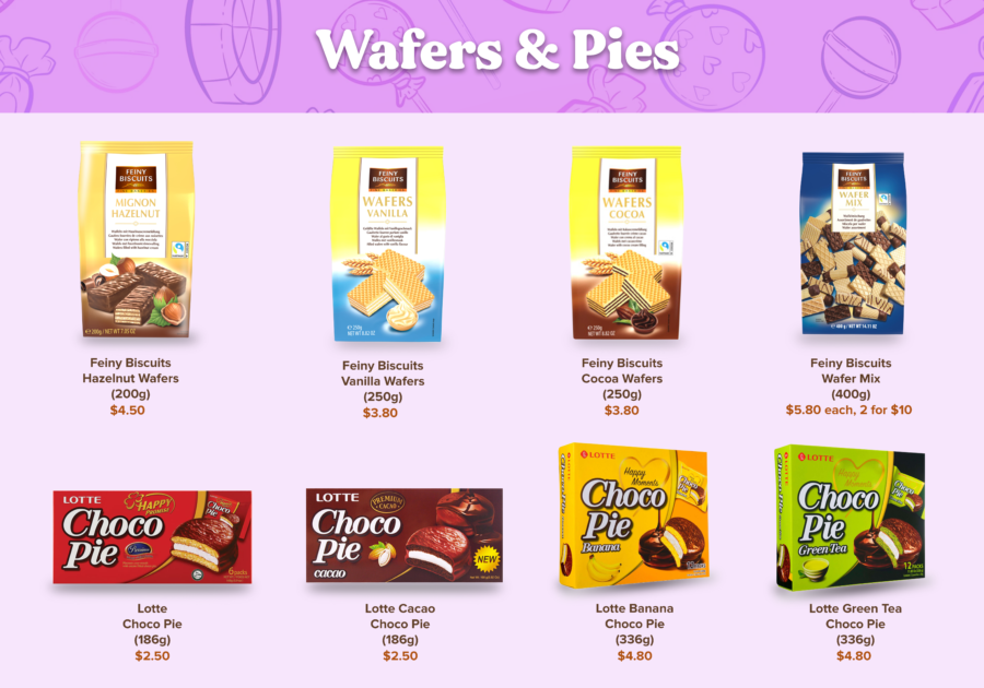 Candy Empire Wafers & Pies Page 2